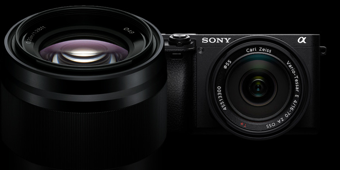 Objektiv Sony 50mm f/1,8 SEL zdarma k Sony A6300 a A6500