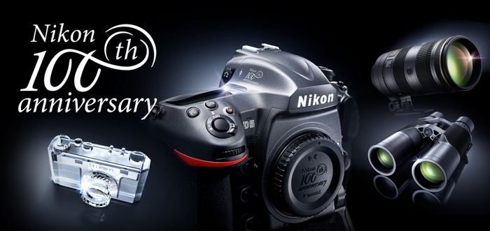 Nikon představuje speciální edici produktů vyrobených při příležitosti 100. výročí založení