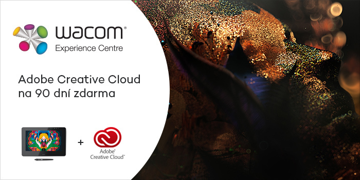 Získejte zdarma Adobe Creative Cloud k tabletům Wacom
