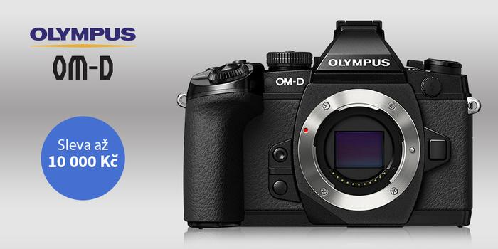 Sleva na Olympus OM-D E-M1 Mark II s vybranými objektivy