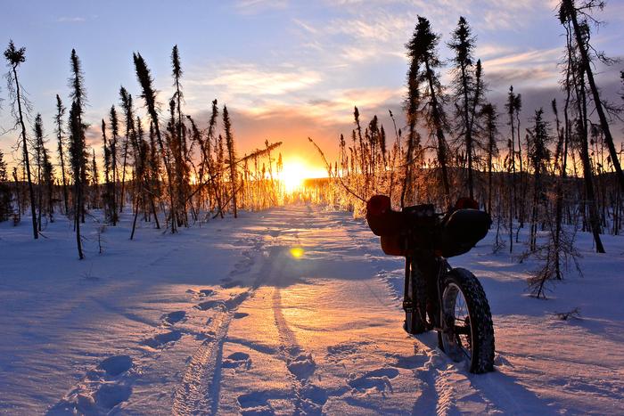 1600 km přes Aljašku na kole - s Pavlem Richtrem