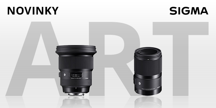 Sigma Art rozšířena o dva nové objektivy Sigma 105mm f/1,4 a 70mm f/2,8