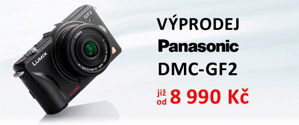 Výprodej Panasonic DMC-GF2