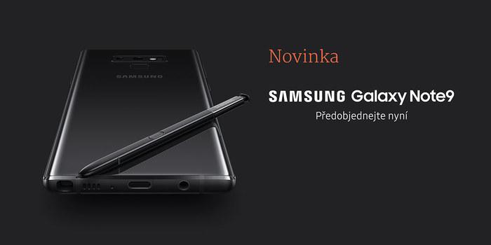 Samsung představil nový Samsung Galaxy Note9!