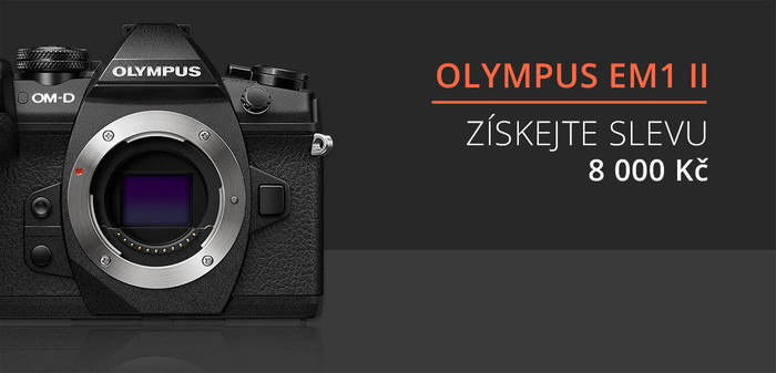 Olympus OM-D E-M1 Mark II tělo se slevou 8 000 Kč - PRODLOUŽENO!