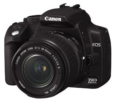 Neodolatelná nabídka Canon EOS 350D