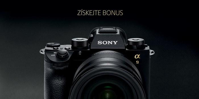 Pořiďte si Sony A9 se slevou 8 000 Kč - PRODLOUŽENO