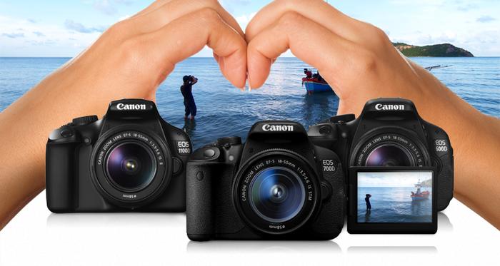 Velký letní cashback Canon - až 1 300 Kč zpět