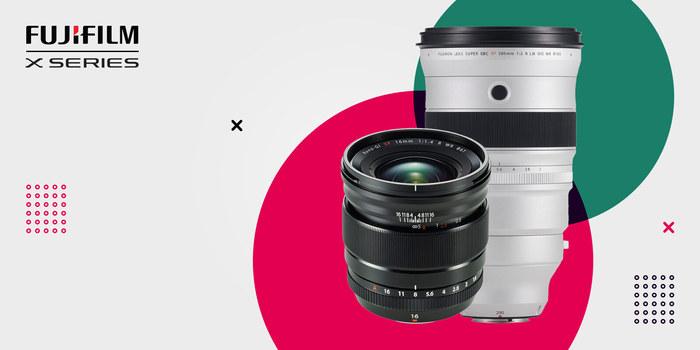 Každý den v červnu jeden objektiv Fujifilm se slevou 15 %