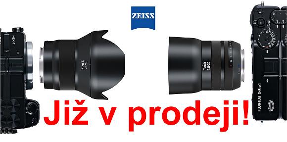 Špičkové objektivy Carl Zeiss Touit jsou již v prodeji