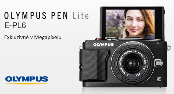 Nový Olympus PEN E-PL6 v prodeji pouze v  Megapixelu