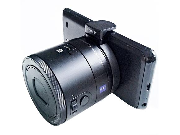 Fotoaparát? Objektiv??  Sony DSC-QX100 - poprvé v ruce