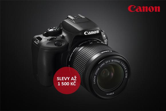 Oblíbené zrcadlovky Canon EOS 700D a 100D se slevou 1 500 Kč