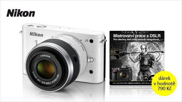Kniha zdarma k vybraným Nikonům s výměnnými objektivy