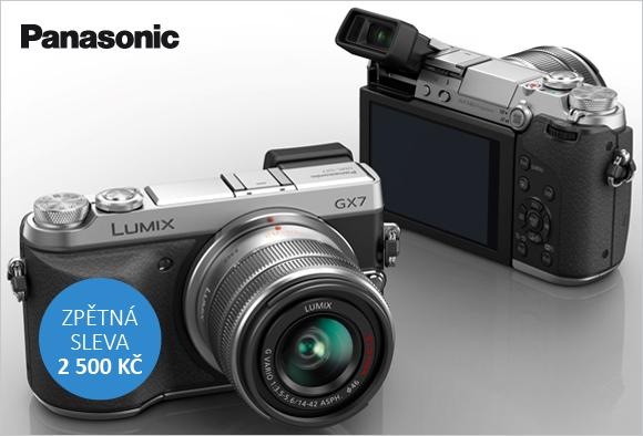 Získejte zpět 2 500 Kč při nákupu Panasonicu GX7