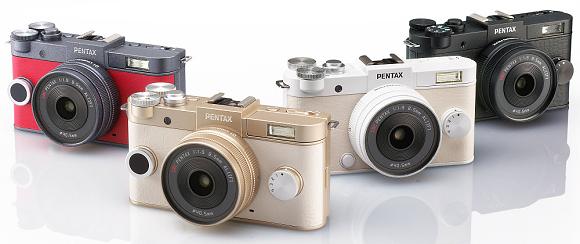 Nový Pentax Q-S1 je nejmenší kompakt s výměnnými objektivy