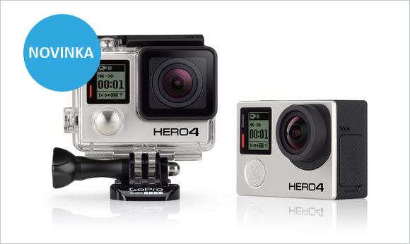 GoPro HD HERO4 - nové kamery do extrémních podmínek