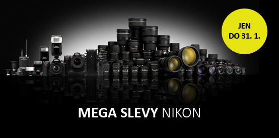 Megaslevy NIKON jsou tu!