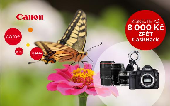 Začínají zpětné slevy Canon 5D Mk III a makro příslušenství