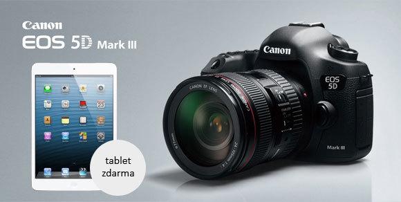 Ipad mini a další dárky zdarma k vybraným zrcadlovkám Canon