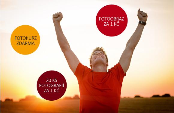 Fotokurz zdarma, fotoobraz v rámu a fotografie za 1 Kč.
