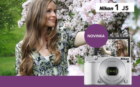 Novinka Nikon 1 J5 je už v prodeji