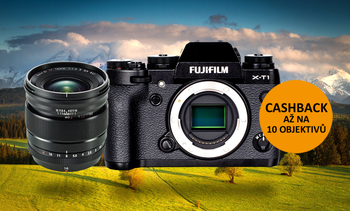 Začíná cashback Fujifilm