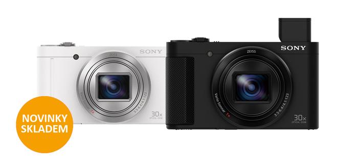 Novinky Sony DSC-HX90V a DSC-WX500 jsou již skladem