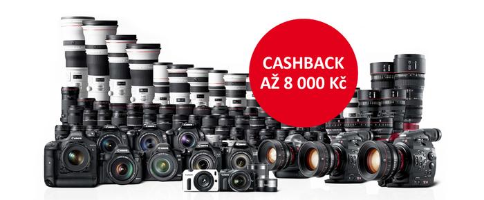 Ušetřete s Cashback Canon, jen do konce měsíce