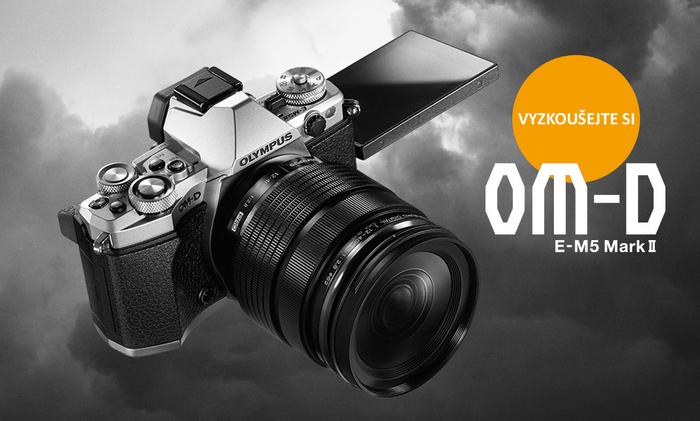 Přesvědčte se o kvalitě Olympus OM-D E-M5 Mark II. Půjčte si ho zdarma!