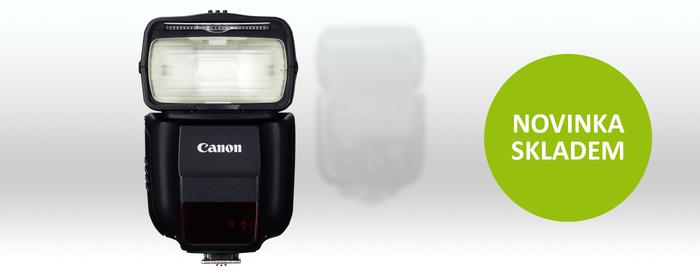 Novinka Canon Speedlite 430 EX III RT ode dneška skladem
