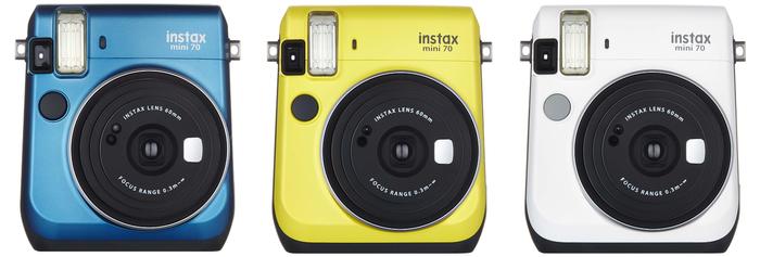 Fujifilm představuje Instax mini 70 pro okamžitou fotografii