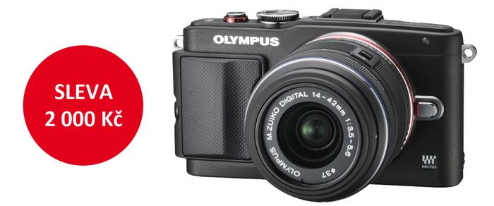 Zlevnili jsme Olympus E-PL6 + 14-42mm II R o 2 000 Kč