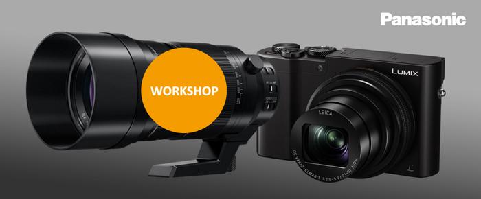 Přijďte na workshop Panasonic věnovaný 4K funkcím fotoaparátů Lumix