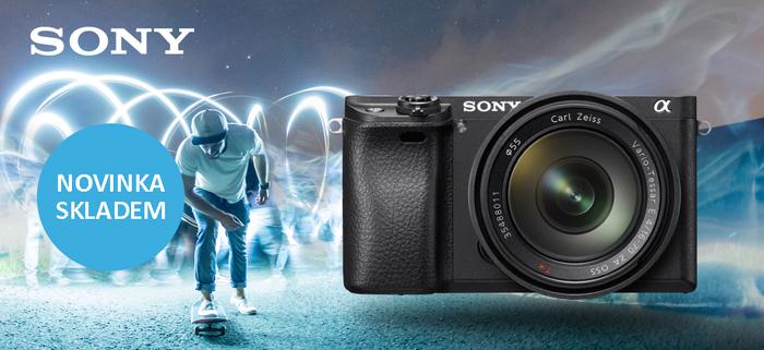 Naskladnili jsme novinku Sony Alpha A6300