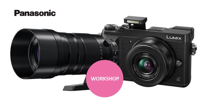 Přijďte si vyzkoušet unikátní 4K funkce fotoaparátů Panasonic