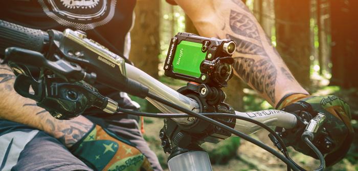 Olympus TG-Tracker posouvá outdoorové kamery do nových výšin – a také hloubek