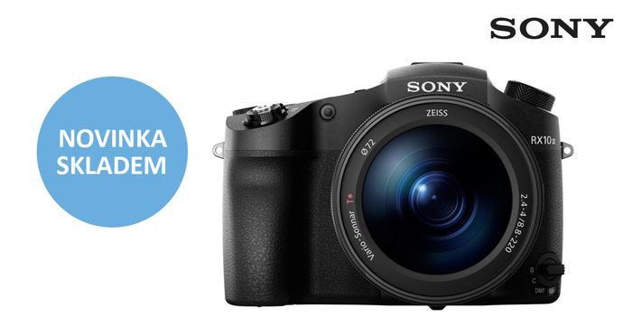 Špičkový kompakt Sony CyberShot DSC-RX10 III je již skladem