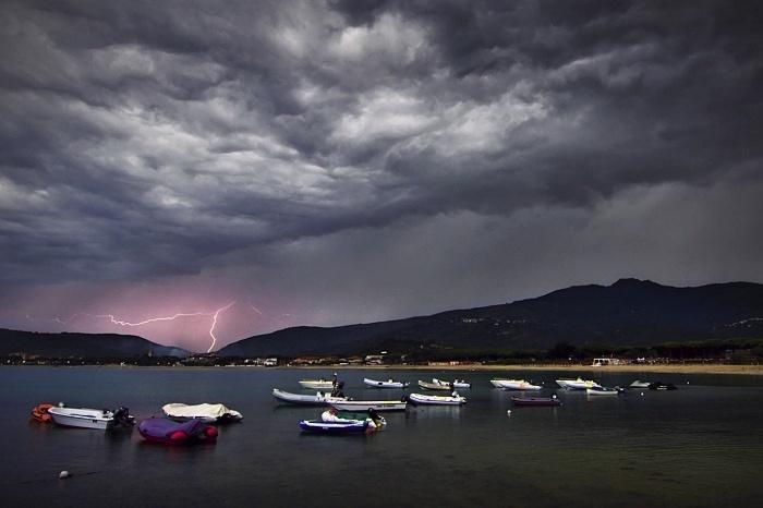 Jak fotit blesky při bouřce