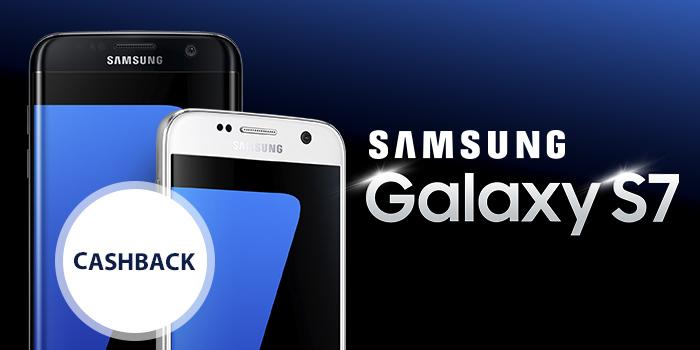 Získejte Cashback 2 500 Kč na fotomobily Samsung Galaxy S7 a S7 Edge
