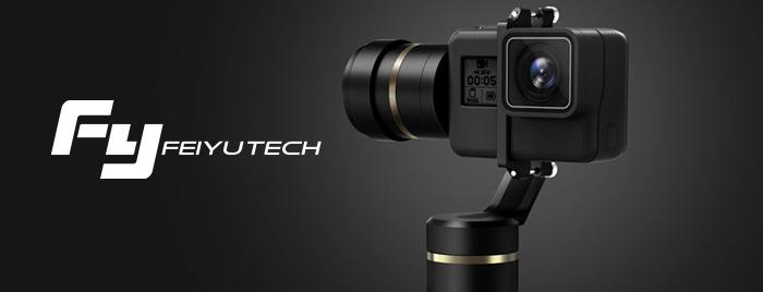 Naučte se natáčet dokonale stabilní profesionální videozáznam na workshopu FeiyuTech