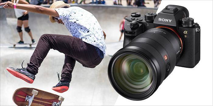 Přijďte si otestovat novinku Sony Alpha A9 na workshop sportovní fotografie