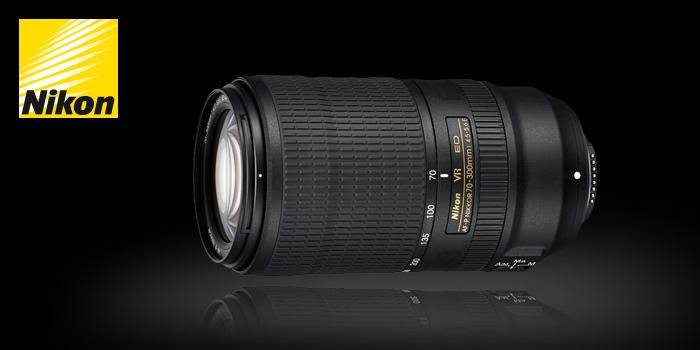Naskladnili jsme Nikon 70-300mm f/4,5–5,6 E AF-P ED VR