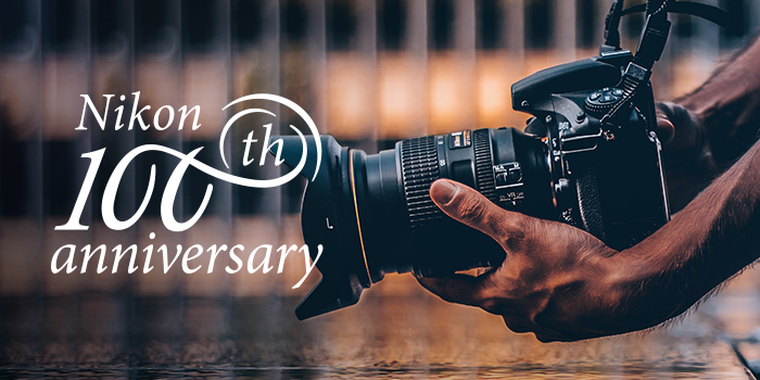 Vyzvedněte si svůj dárek k výročí Nikonu - slavíme celý týden