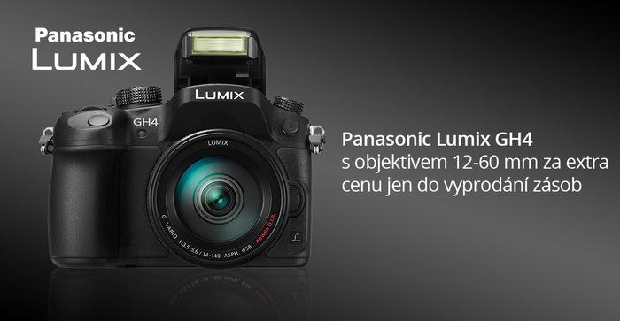 Výprodej Panasonic GH4 a slevy na další fotoaparáty