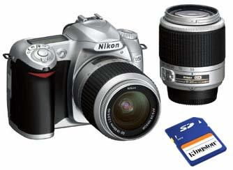 Výprodej Nikon D50 stříbrný