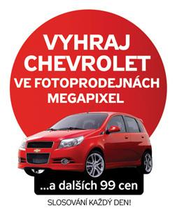Výsledky soutěže Vyhraj Chevrolet