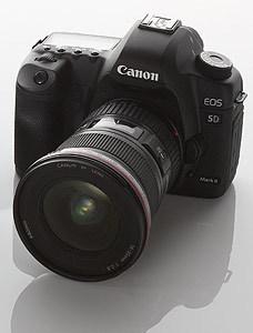 Prezentace nové zrcadlovky Canon EOS 5D Mark II