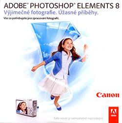 Adobe Photoshop Elements 8 zdarma k fotoaparátům Canon!