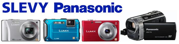Slevy fotoaparátů a kamer Panasonic